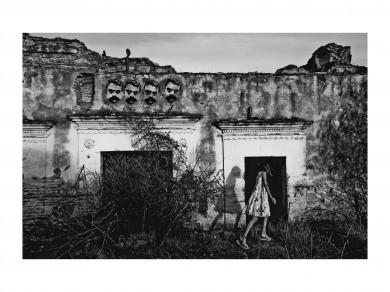 Nadja Massun: Alicia au pays de Zapata  2010,  / digital print / 56 X 43.2  cm