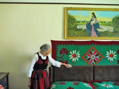 Fekete Zsolt: Irma néni, Csíkszentdomokos, 2009, Giclée print, 80x120 cm