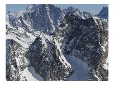 Fekete Zsolt: Alpok, 2011, Giclée print, 80x103 cm