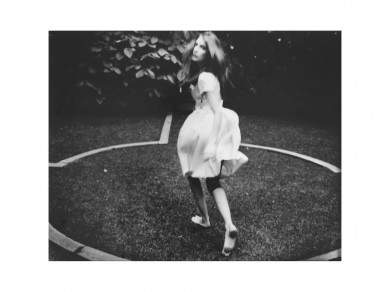 Nadja Massun: Vers le fond du jardin, 2012,  Plata sobre gelatina /  Silver print/ 50.5 X 40.5 cm