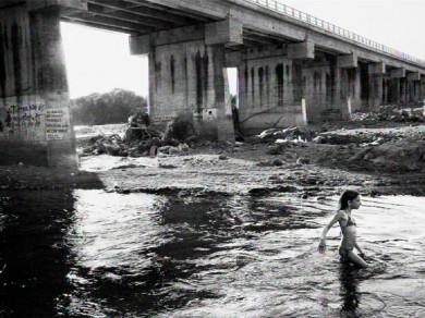 Nadja Massun: La rivière sous le pont, 2010,  Digital print / 86 X 60 cm