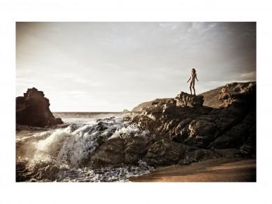 Nadja Massun: Battement de coeur, 2009,  Digital print / 86 X 60 cm