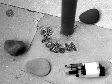 Mari Mahr: Two Walk in Paris 01